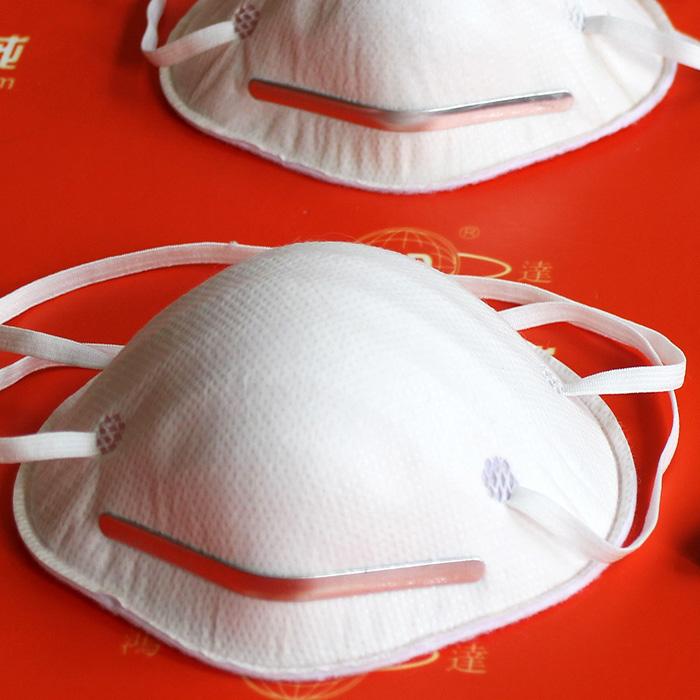 杯型口罩点鼻梁条耳带机(双点) HD-0104