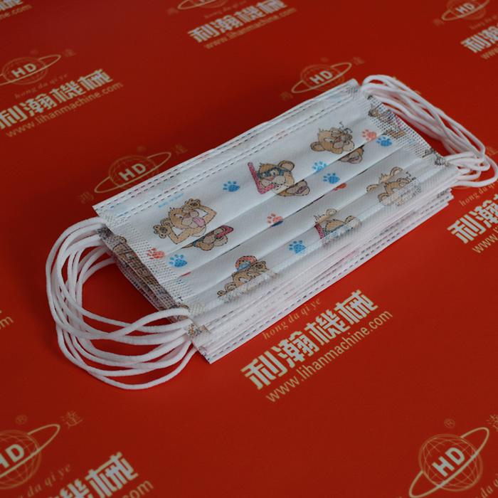 平面口罩内耳带一体机(一拖三)HD-0301