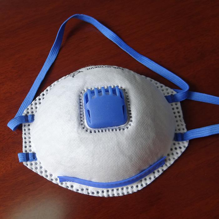 防尘口罩点鼻梁条耳带机(单点) HD-0107