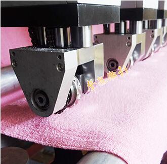 全自动毛巾布分条横切机HD-1105